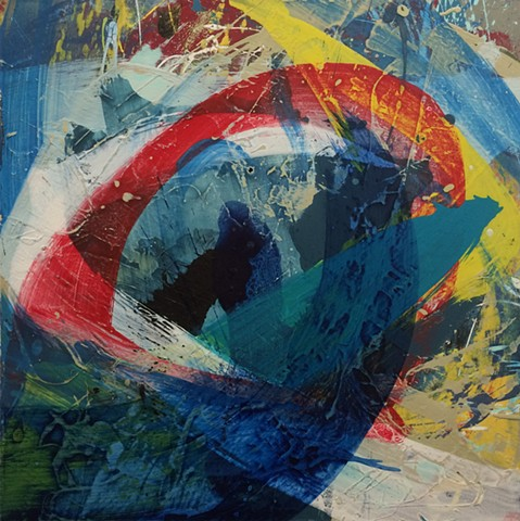 Paul Fenwick Abstract Contemporary British Painting