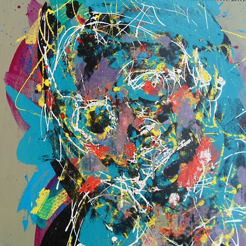 Paul Fenwick Art Contemporary Artist Figurative Abstract Painting Drawing
