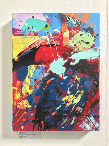 Paul Fenwick Art Exhibition Solo Abstract Paintings Oxford