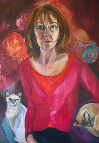 Self Portrait with Breast Cancer