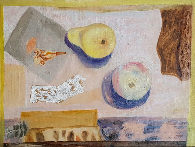 Still Life with Plaster Fruit