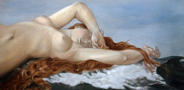The Birth of Venus After Alexandre Cabanel