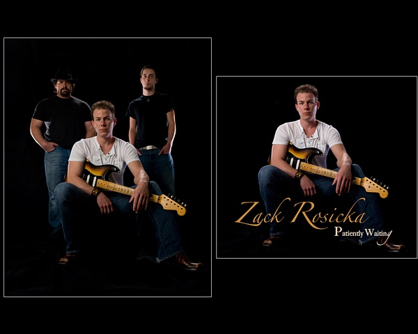 Zack Rosicka Band- Image to CD Cover