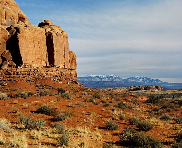 Inside Arches National Park