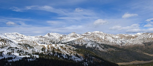 Loveland Pass in Color