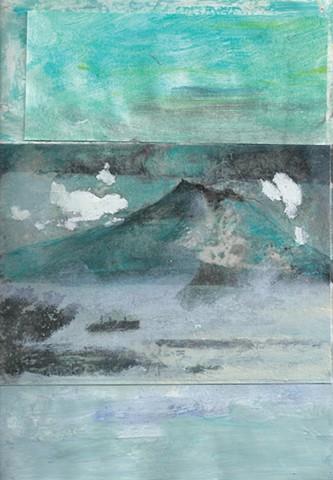 Sakurajima Resting