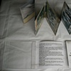 Grey Volcanoes- multiple edition housing and printed accordion pages