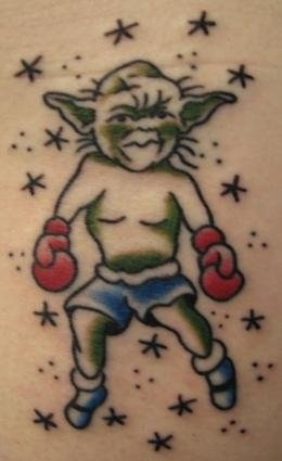 Peter McLeod Tattoo Star Wars Tattoo