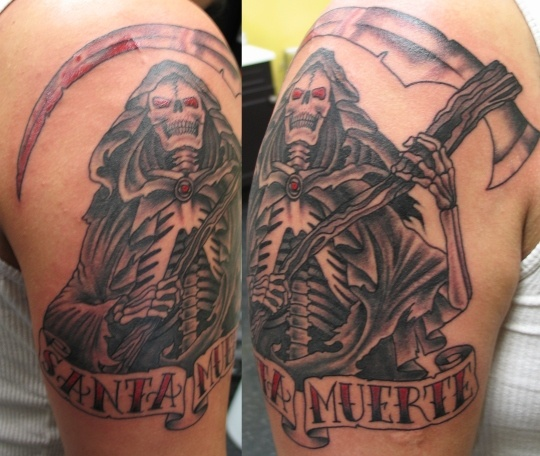 McLeod Tattoo 612.735.3270 - Santa Muerte