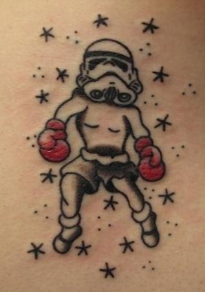 Peter McLeod Tattoo Star Wars Tattoo