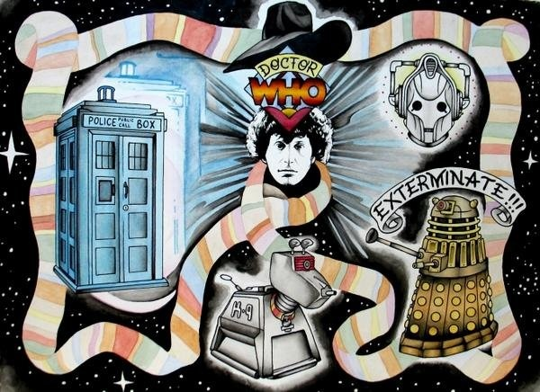 Doctor  Who Peter McLeod Flash Art
