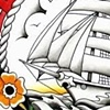 Sailor Jerry Inspired Flash