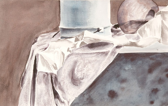 watercolor still life