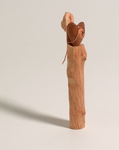 Wood carving by Lin Lisberger