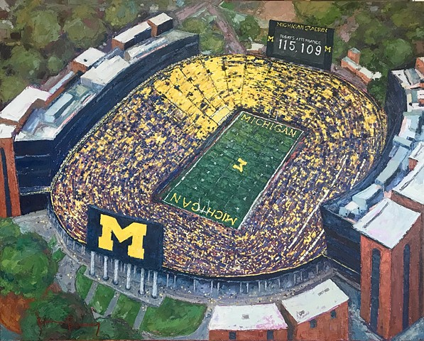 "The Big House - 16"" x 20"" Print"