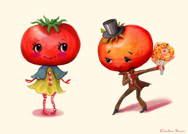 Fruits-Vegetables in Love