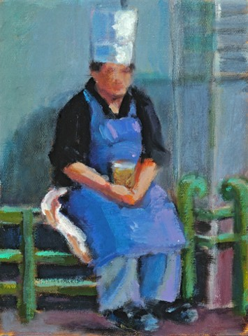 narrative figurative paris chef lowenstein study gesture train station