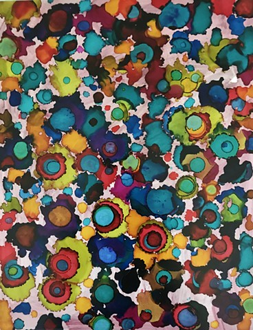 shelley lowenstein beta cells art and science biology abstracts ink paper
