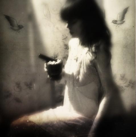 i wish i was a bird, so i could fly far, far away
