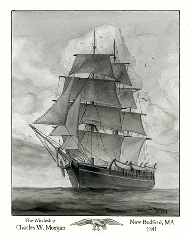 "The Whaleship ""Charles W. Morgan"""