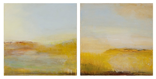 Marsh Light Diptych
