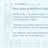 The Mulford Gallery