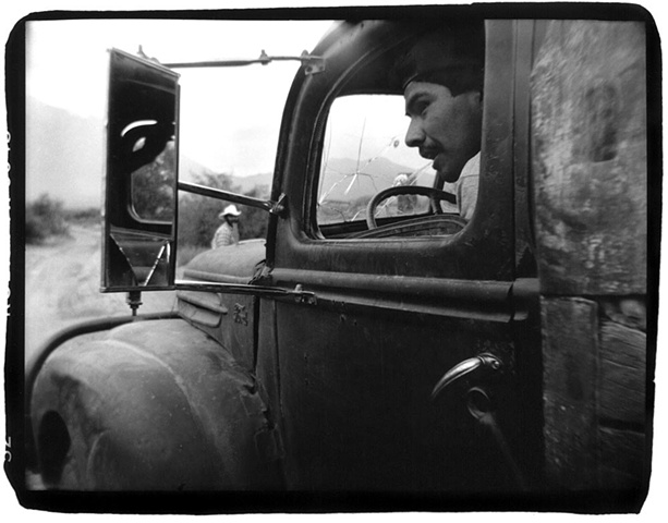 Holga photograph of an old truck in Mexico