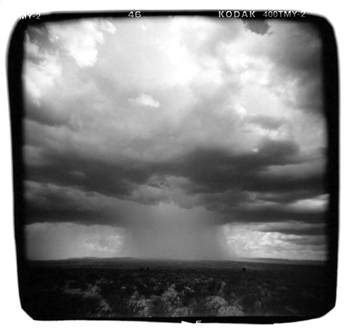 Rain – outside Alpine, Texas