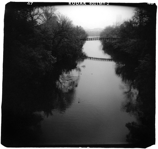 Holga photo Ladybird Lake, Austin