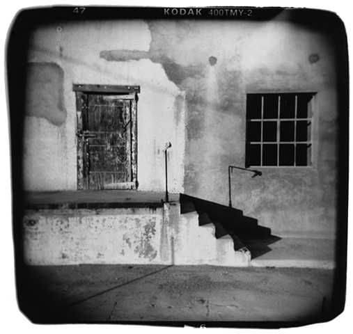 Holga photograph in black and white