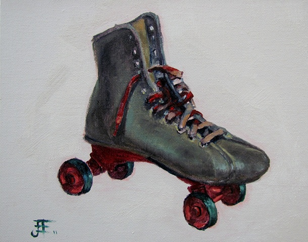 Lonely Lost Rollerskate