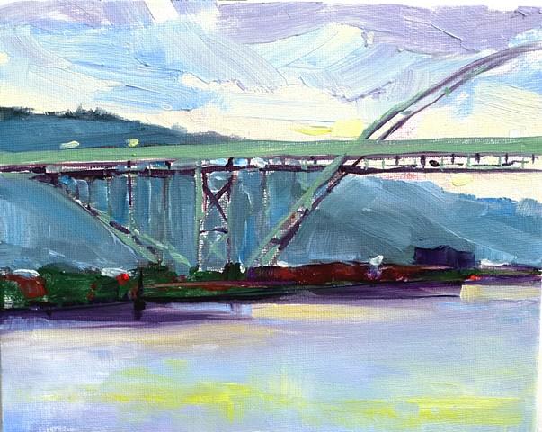Suicide Bridge, Portland 2014