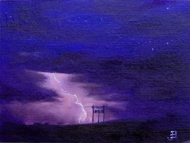 Lightning with transformer