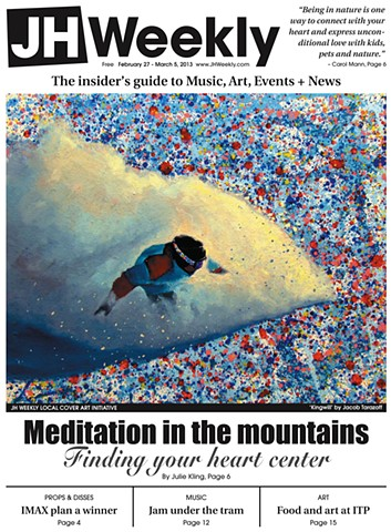 cover of Jackson Hole Weekly, February 2013