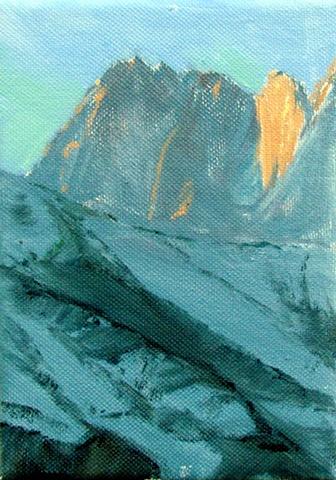 light on the Tetons