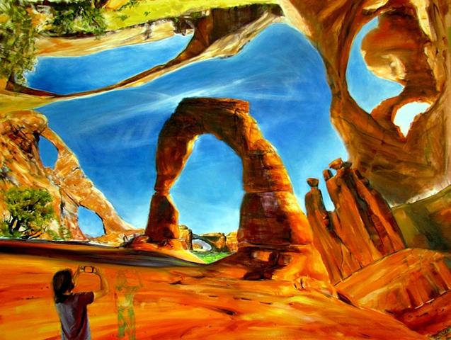 Arches summer