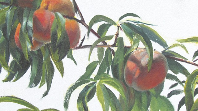 'Peaches' detail 4
