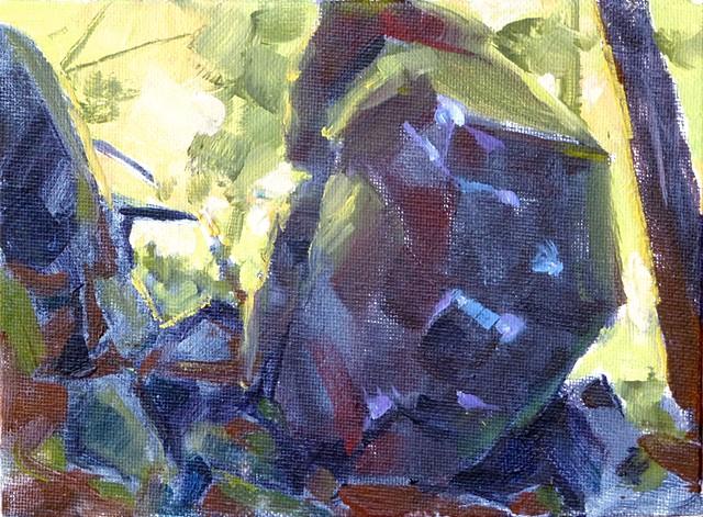 Carver Cliff boulder