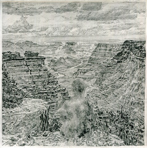 Untitled (Tseng Kwong Chi, Grand Canyon, Arizona, 1987)