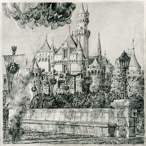 Untitled (Tseng Kwong Chi, Disneyland, California, 1979)