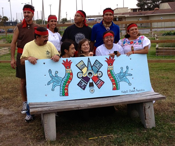 INDIGENOUS PEOPLES BENCH BACK 1