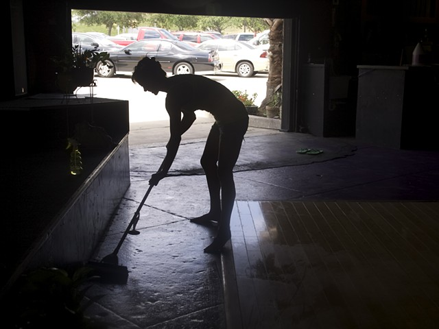 Mopping for Yoga