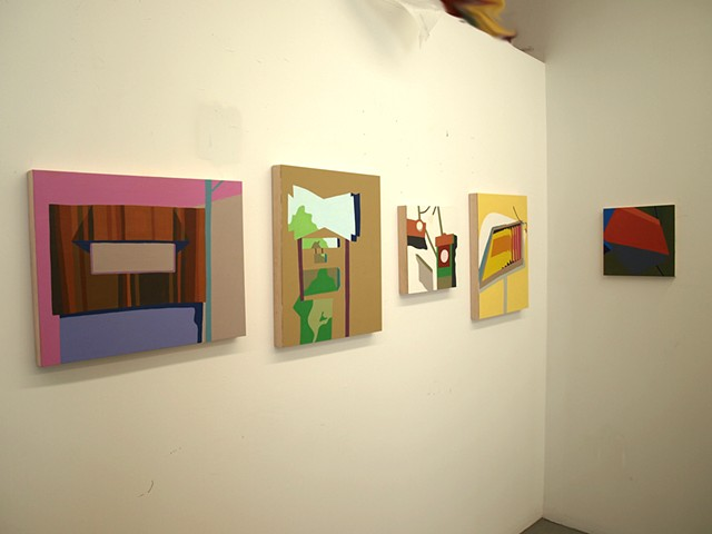 studio installation shot (small signs)
