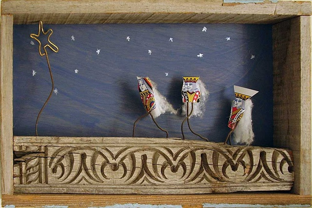 Christmas Cards, The 3 Wisemen, Greeting Cards,