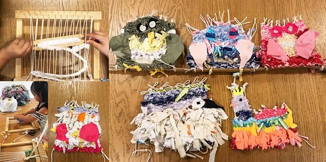 2019 ChangLong Environmental Art Project weaving workshop