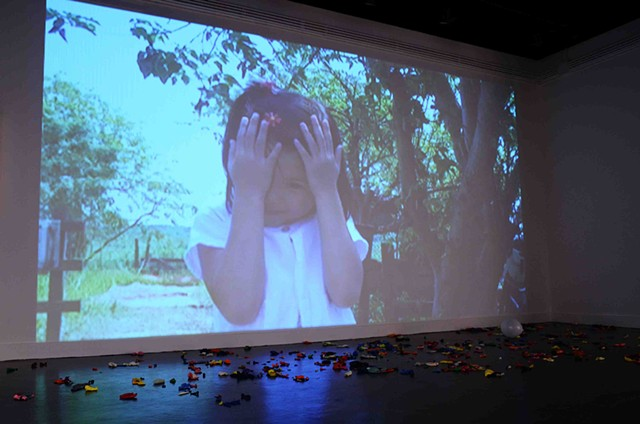 Boom and Bust video installation