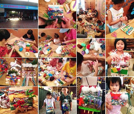 Yiland Children festival workshop
