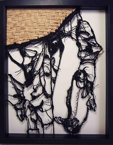 Paper Yarn Drawing No.3