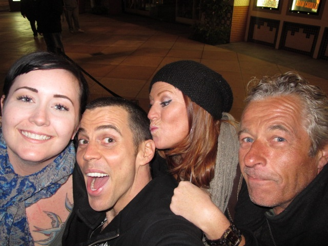 Samantha, Steve O, Susie and Chef John