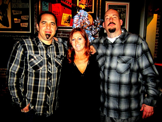 Corey Miller, Susie and Josh (Mr Chino)